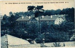 CPA Camp Militaire De SOUGE (Gironde) - Les Logements Neufs Des... (229894) - France