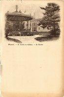 CPA Mayenne Le Jardin Du Chateau-Le Théatre (336216) - France