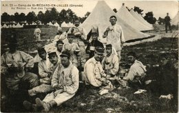 CPA Camp De St-MÉDARD En Jalles Vue Des Tentes (336221) - France