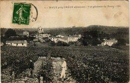 CPA Haux Pres Créon Vue Générale Du Bourg (336231) - France