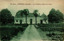 CPA Périssac La Pradelle Route De La Gare (336233) - France