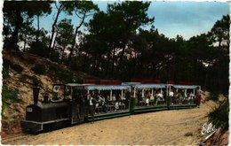 CPA Cap FERRET Le Petit Train Forestier (336235) - France