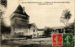 CPA Moulon Chateau De Montlau-Vue Prise Du Parc (336238) - France