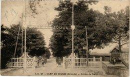 CPA Camp De SOUGEs Entrée Du Camp (336309) - France