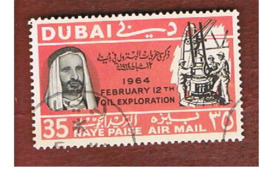 DUBAI   -   SG 169 -     1966  OIL EXPLORATION: DRILL BIT   - USED ° - Dubai
