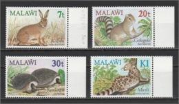 MALAWI - 1984 - ( Animals - Nyika Red Hare ) - Complete Set - MNH (**) - Malawi (1964-...)