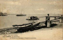 CPA LOTMONT Les Bords De La Garonne (336343) - France