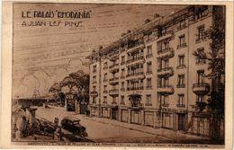 CPA Le Palais Rhodania A JUAN-les-PINS (376507) - Juan-les-Pins