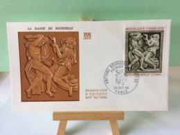 La Danse De Antoine Bourdelle - Paris - 26.10.1968 FDC 1er Jour Coté 3€ - FDC
