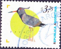 Argentinien - Cayenne-Kiebitz (Vanellus Chilensis Cayennensis) (MiNr: 2419) 1998 - Gest Used Obl - Usati