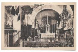 Cpa 83 Bandol (Var) - L'église - (Vue Intérieure) - La Côte D'Azur - Bandol
