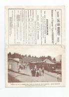 73 Savoie Dépliant 3 Volets Et 3 Photos Reproduites Horaires Chemin De Fer Revard Pub  Aix Les Bains 15,7x10,5 Cm Plié - Dépliants Touristiques