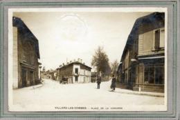 CPA - VILLARS-les-DOMBES (01) - Aspect De La Place De La Concorde En 1908 - Villars-les-Dombes