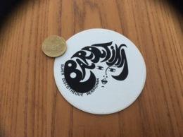 Ancien AUTOCOLLANT, Sticker * «BARATINA - SUPER DISCOTHÈQUE - PERPIGNAN (66)» - Autocollants