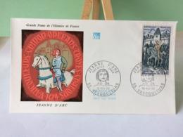 Jeanne D'Arc - 55 Vaucouleurs - 16.11.1968 FDC 1er Jour Coté 2€ - 1960-1969