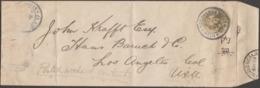 Japon 1894. Entier Postal Enveloppe Pour San Francisco. Cachets D'arrivée Au Verso. Voir Scan - Interi Postali