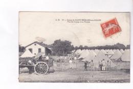 CPA  DPT 33 CAMP DE SAINT MEDARD EN JALLES, VUE DU CAMP AVEC TENTES - France
