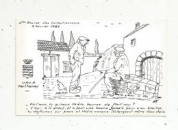Cp, Bourses & Salons De Collections, 4 E Bourse Des Collectionneurs , PARTHENAY, 1985, Illustrateur Marc Granet - Bourses & Salons De Collections