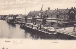 Stettin - Freihafen 1904      (A-113-150119) - Poland