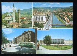 CPM Yougoslavie SARAJEVO Multi Vues - Yougoslavie
