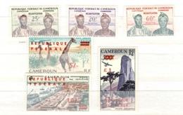 Cameroun YT N° 329/331 Neufs * Et Poste Aérienne N° 49/51 ** MNH. TB. A Saisir! - Camerun (1960-...)