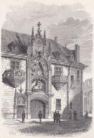 54. NANCY. Le Palais Des Ducs De Lorraine. 1871 - Vieux Papiers