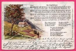Litho - Gruss Aus Dem Erzgebirge - Partition Et Chanson - Walser - Edit. WILHELM VOGEL - 1905 - Souvenir De...