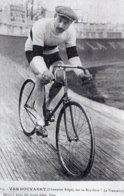 6922 Photo Cartonnée Repro. Cyclisme  Van Houvaert - Cycling