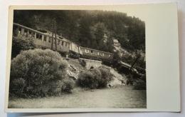 Leoben-Göss Eisenbahn ZUGUNGLÜCK 16.8.1931 Ak(train Railroad Catastrophe Cp Postcard Steiermark Österreich Ansichtskarte - Leoben