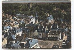 Chatillon Coligny - Place Du Marché Et Le Donjon - Ed Lapie 1  - A Voir Magasins - Chatillon Coligny