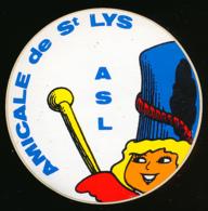 AUTOCOLLANT, STICKERS : SAINT-LYS (Haute-Garonne), Amicale De Saint-Lys, Majorettes - Autocollants