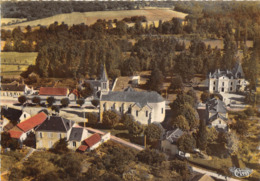 18-VIGNOUX-SUR-BARANGEON- VUE AERIENNE L'EGLISE ET LES FARFADETS - France