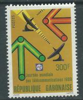 Gabon N° 659  XX Journée Mondiale Des Télécommunications Sans Charnière, TB - Gabon (1960-...)