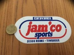 AUTOCOLLANT, Sticker «caravanex - Jam'co Sports - REIMS (51)» - Autocollants