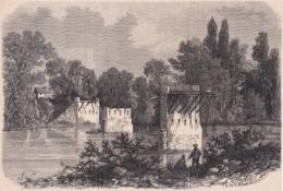 94. CHAMPIGNY. Etat Actuel Des Ruines Du Pont. 1871 - Vieux Papiers