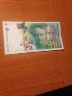 500 F Pierre Et Marie Curie 1994 TTB   (port Offert ) - 1992-2000 Ultima Gama