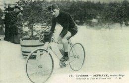 6931 Photo Repro. Cyclisme Defraye, Routier Belge - Cycling