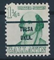USA Precancel Vorausentwertung Preo - TULSA OKLA.- Siehe Scan - Vereinigte Staaten