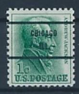 USA Precancel Vorausentwertung Preo -CHICAGO IL- Siehe Scan - Vereinigte Staaten