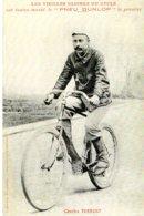 6934 Photo Cartonnée Repro. Cyclisme  Charles Terront - Cyclisme