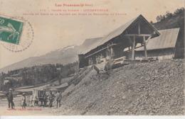 Vallée De Louron - LOUDENVIELLE - Arrivée Du Cable De Sté Des Mines De Manganèse De Louron - Autres Communes