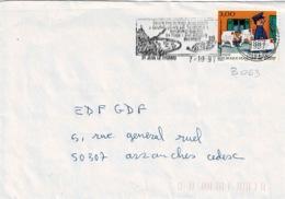 TP N° 3063 Seul Sur Enveloppe De St Jean Le Thomas - Marcophilie (Lettres)
