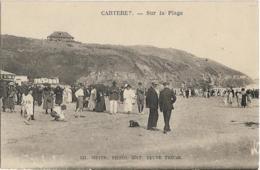 D50 - CARTERET - SUR LA PLAGE - Nombreuses Personnes Habillées Avec Des Robes Et Des Costumes (sur La Plage) - Carteret