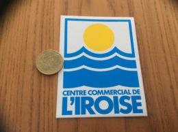 Ancien AUTOCOLLANT, Sticker «CENTRE COMMERCIAL DE L'IROISE - BREST (29)» - Autocollants