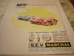 ANCIENNE   PUBLICITE  LES MEILLEURS POUR VOUS  MARCHAL 1964 - Other