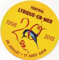 Autocollant FESTIVAL LYRIQUE EN MER - Stickers