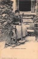 Cartolina Fileuse Valaisanne - Cartoline