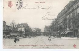 CPA 1226  --PARIS Rue De Flandre Pont Du Chemin De Fer De Ceinture  - Animation - France