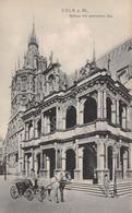 Cartolina Coln Rathaus Carrozza Animata - Cartoline