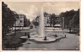 Cartolina Mannheim Blick Nach Der Heidelberger Strasse 1941 - Cartoline